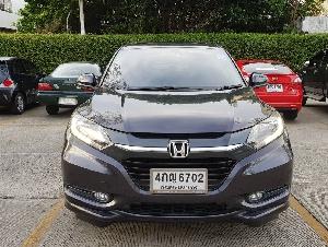 ขาย Honda HRV ปี 2015 ตัวท้อป 1.8 EL มีประกันชั้น1 รถสวยสภาพดีไม่มีชน ไม่เคยทำสีวิ่งน้อยมาก สีเทาออโต้ รถมือเดียว