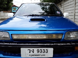 Toyota Starlet 4E-Turbo intercooler Auto ปี1984