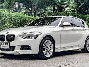 ขาย BMW 116i M Sport F20 ปี2014 สภาพใหม่มากดูแลรักษาอย่างดี