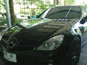 ขายรถบ้าน Benz SLK-350 AMG ปี 2012 เครื่องยนต์ 3500cc V6 จดทะเบียน ปี12