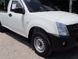ISUZU D-MAX ตอนเดียว 2.5 Ddi i-TEQ ปี2010 สีขาว